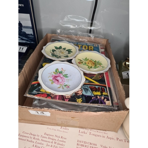 23 - 1 Piece Royal Crown Derby and 3 Royal Albert Dishes...