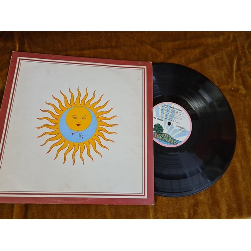 16 - King Crimson Larks Tongues in Aspic 1973 LP...
