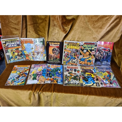 4 - Collection of Vintage Marvel Comics...