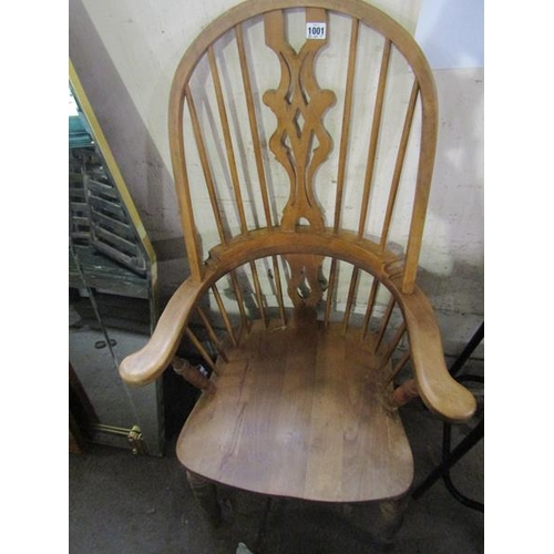 1001 - REPRODUCTION WINDSOR TYPE ARMCHAIR...