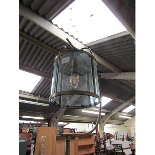 45 - STANDARD LAMP; HANGING LIGHT