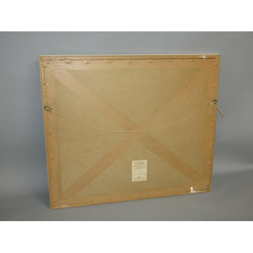 533 - WILLIAM RUSSELL FLINT F/G COLOURED PRINT AN APPROACHING SHOWER 45 x 57 cms