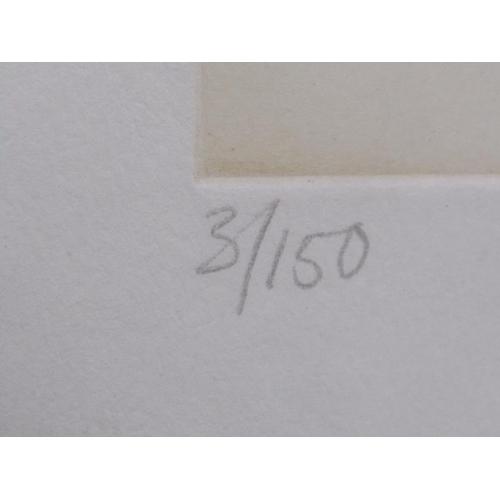 519 - DEREK GREAVES 75 - LIMITED EDITION PRINT, F/G, 50CM X 37CM
