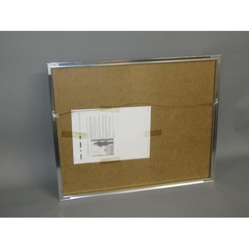 529 - ALYSON HUNTER 1984 ACROSS THE TRACKS - LIMITED EDITION COLOURED PRINT 2/50 F/G 35 x 48 cms