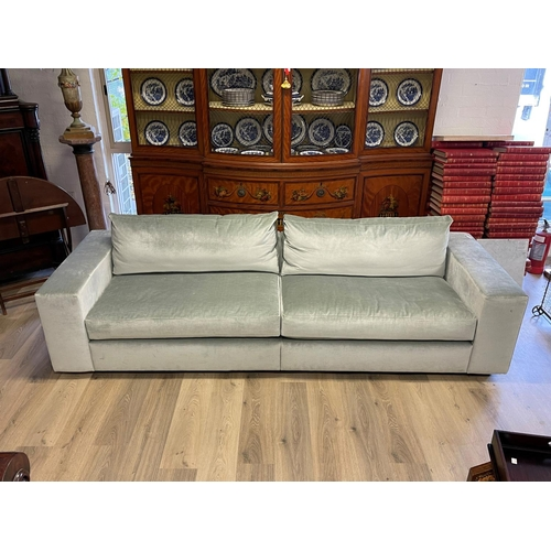 1055 - Custom made long couch - This lounge has been custom designed and made according to the designs of I...