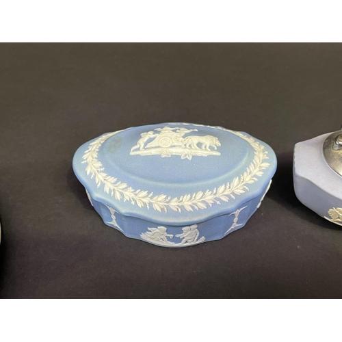 9 - Good selection of Wedgwood jasper ware (9)