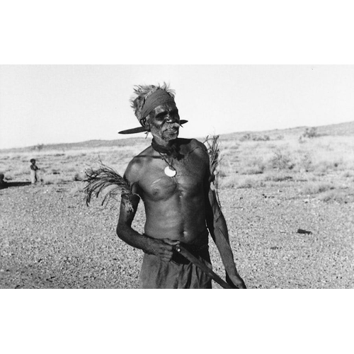 1054 - ABORIGINAL HAIR ADORNMENT, KIMBERLEY, WESTERN AUSTRALIA, Carved and engraved hardwood and natural pi...