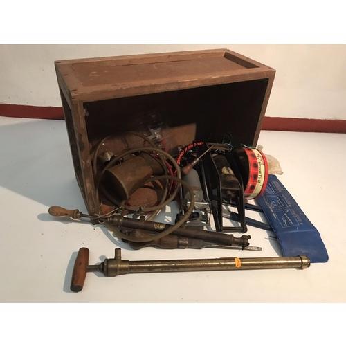 16 - Box of tools...