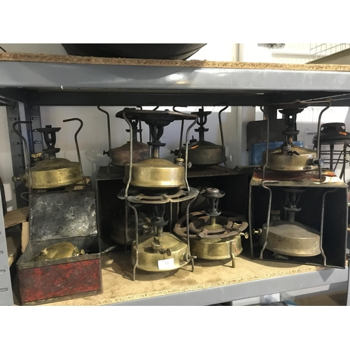 13 - Large quantity of primus stoves...