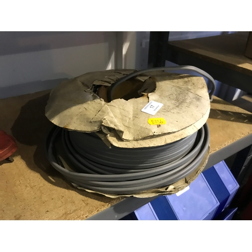 17 - Quantity of electric cable...