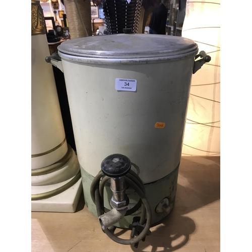 34 - Old water boiler...