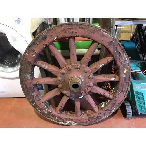 54 - Old wheel...